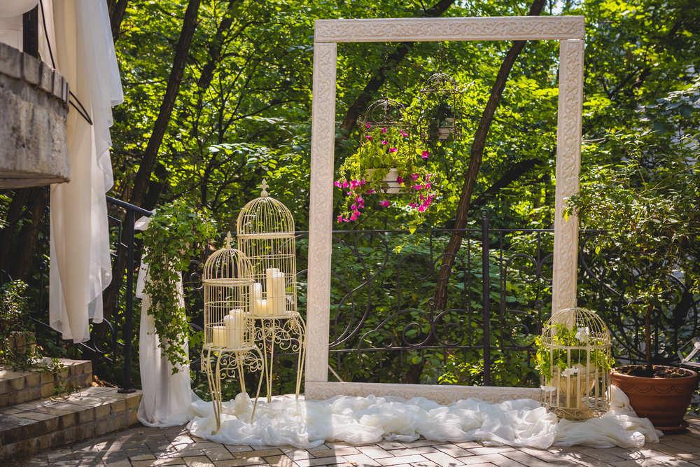 Un bonito rincón para bodas especiales