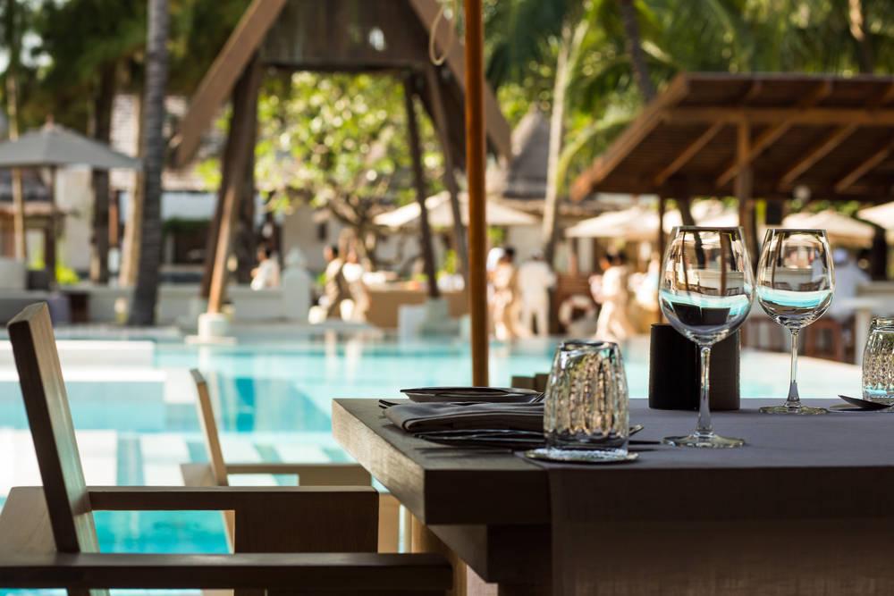 Restaurantes con piscina