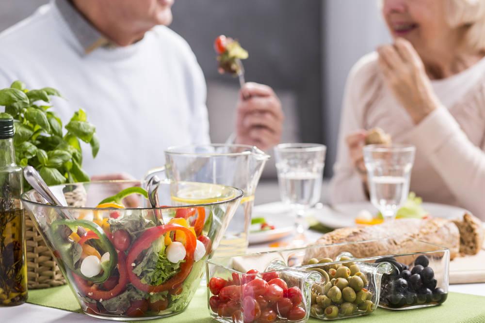 Dieta nutricional especial para ancianos